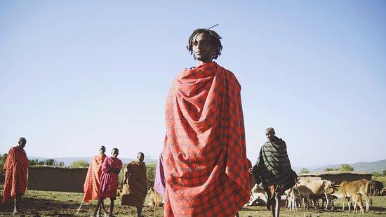 African Game Trek Safaris - Day Tours: my brother Masai