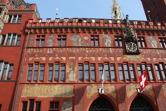 Basel City Hall Picture of Rathaus Basel TripAdvisor