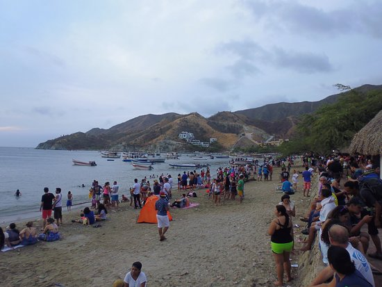 Taganga, Colombia: Playa grande