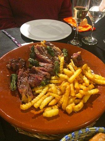 Restaurante Arlequin: Carne muy buena y en su punto
