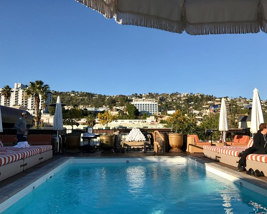 Fascinating, chic boutique hotel in West Hollywood