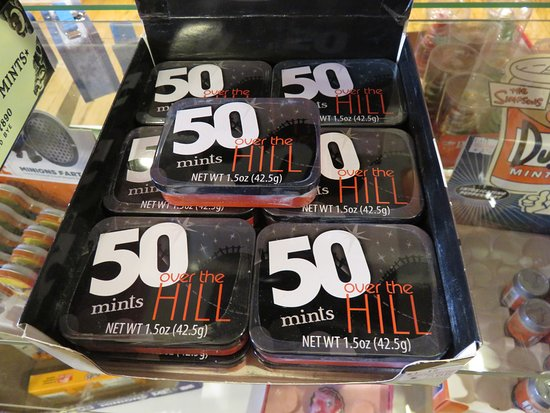 Lahaska, PA: Over the Hill Mints