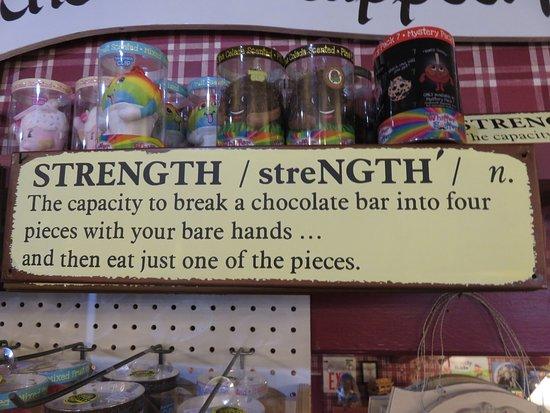 Lahaska, PA: Cute Sign