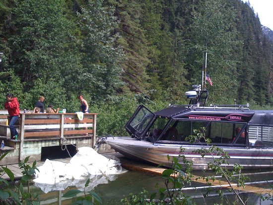 Wrangell, AK: M/V Denali at Chief Shakes hot tubs, Stikine River
