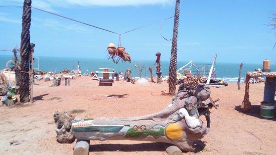 Fenda do Biquini - Praia de São Cristóvão - Areia Branca