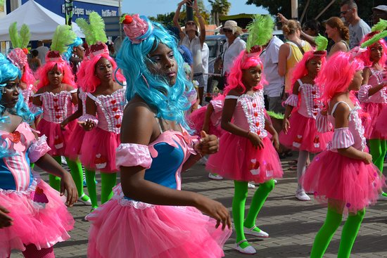 Bonaire Kids Parade Carnival