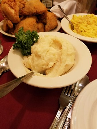 Bavarian Inn Restaurant : The mashed potatoes are the absolute best!