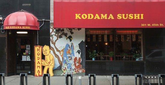 Exterior of Kodama Sushi