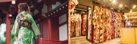 VASARA Kimono Rental , Ginza Sanchome