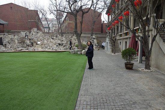 Qing Wang Fu: grounds