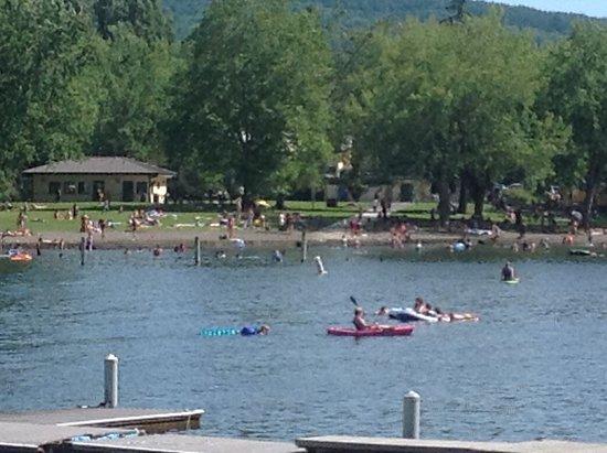 Bloedel Donovan Park: Kayaks and swimming