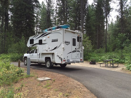 McCall, ID: Nice clean level campsites