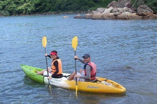 Snorkeling y kayak en el parque...
