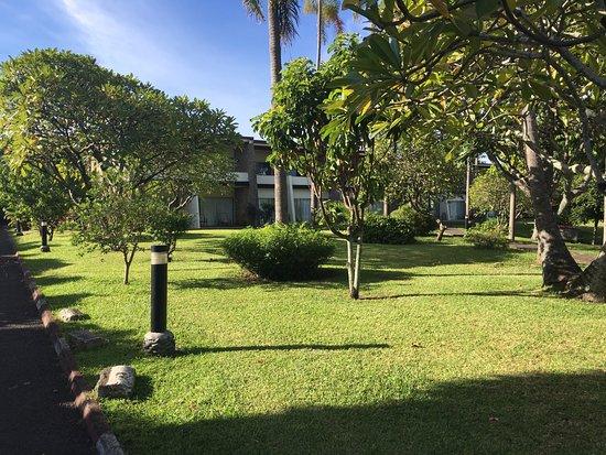 Royal Tahitien : Très beau parc parfaitement arboré