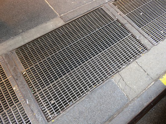 Marilyn Monroe's subway grate