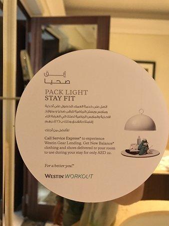 The Westin Dubai Mina Seyahi Beach Resort & Marina: New Balance offer