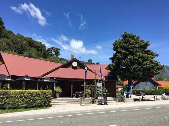 Pohara, نيوزيلندا: Tolles Essen!
