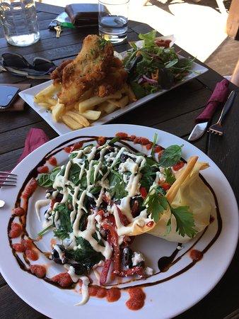 Pohara, Новая Зеландия: Tolles Essen!