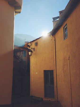 Sunrise in Vernet-Les-Bains
