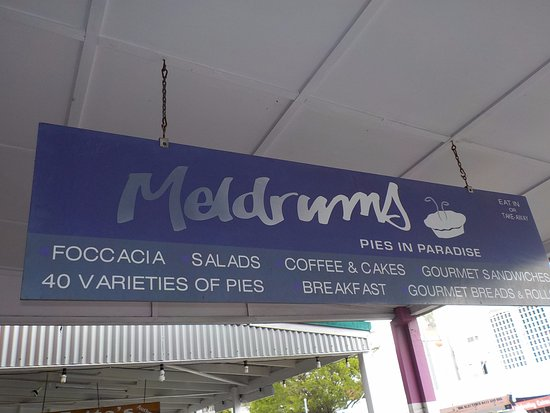 Meldrum's Pies In Paradise: Pies In Paradise for sure