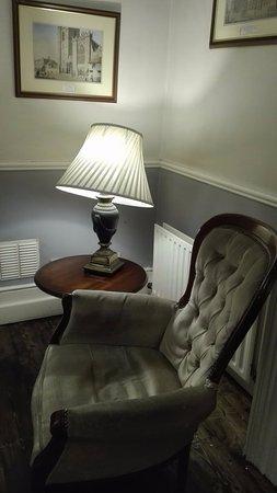 Charleville Lodge: Przytulny salonik dla gości