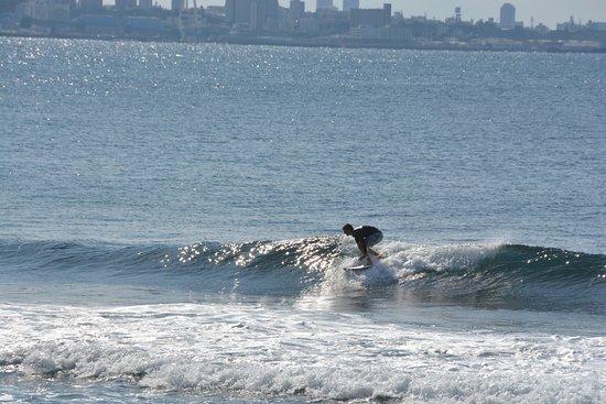 Miyagi Coast: 宮城海岸のサーファー