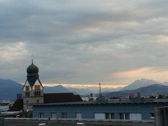 ibis Baar Zug: View from room