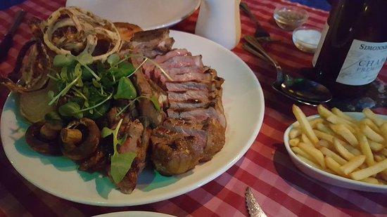 L'Experience : Manx T-bone steak