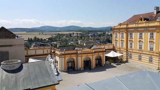 Melk, Austria: Blick von oben