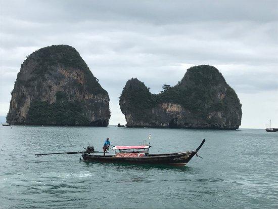 Krabi La Playa Resort: Scenic Views by Motor Boat to Krabi