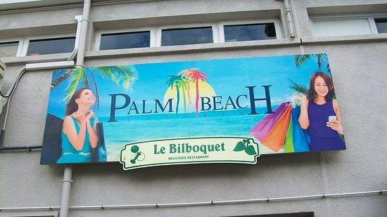 Le Bilboquet Plage : Bilboquet restaurant.