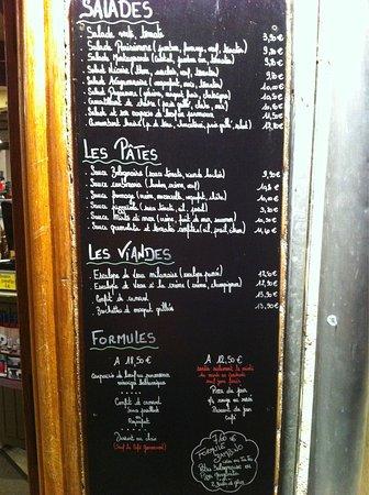 Espalion, França: Carte et menu