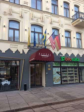 Kaunas Hotel: Very nice hotel, good service, very good spa zone Located in central part, not far from old city