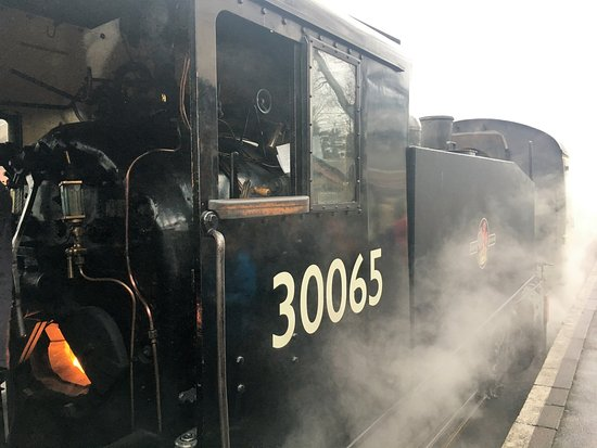 Tenterden, UK: Our 'loco' - its final day of service.