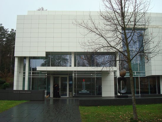 Museum Frieder Burda : Museum entrance