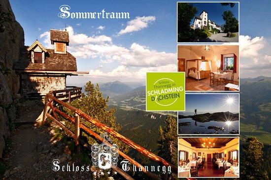 Grobming, Austria: Sommerurlaub im Schloss Thannegg