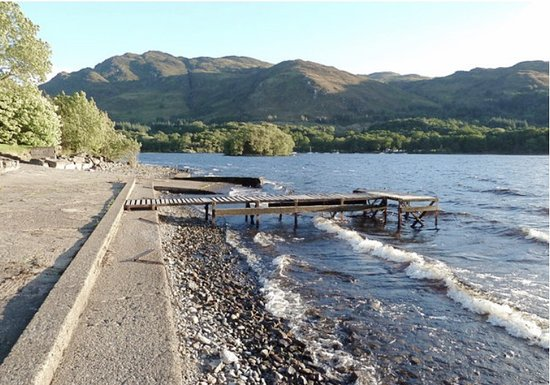 St. Fillans, UK: Jetty at the Four Seasons hotel