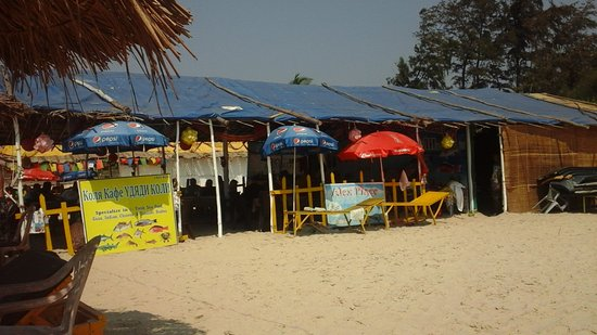 Majorda, Indien: Alex Place Beach Shack - near by
