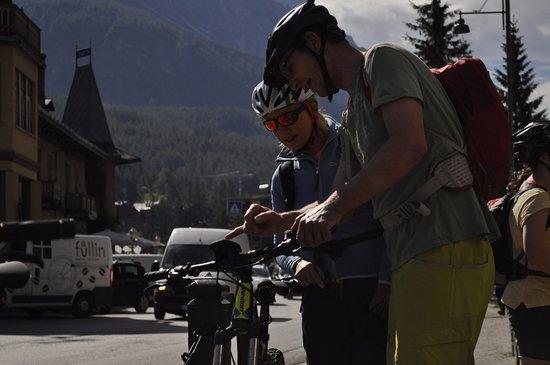 Snow Service Cortina.Impariamo Ad Usare L E Bike Picture Of Snow Service
