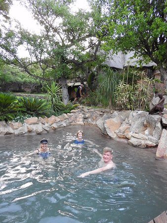 Blyde River Canyon Lodge: Hilside House - our own private pool!