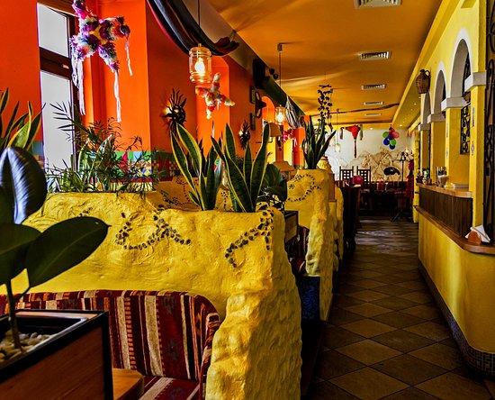 Restauracja Pueblo: Wnętrze