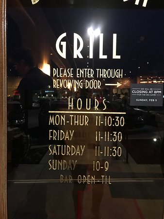 Camp Hill, Pensilvania: operating hours