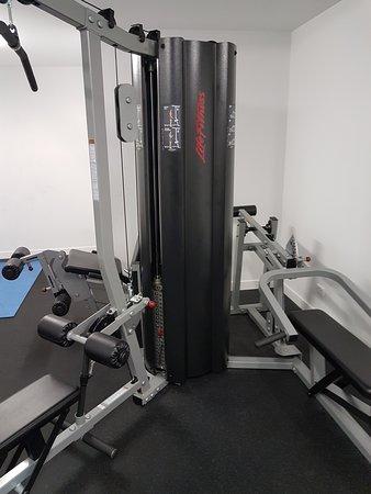 Inside small gym room picture of ibis styles brisbane elizabeth