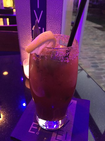 Hotel Le Marais: Bloody Mary at the Bar
