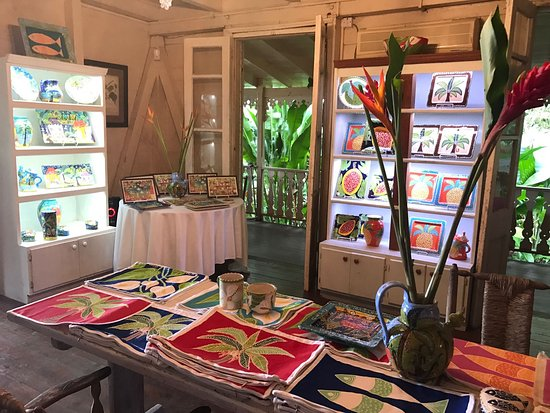Pink plantation shop - Picture of The Pink Plantation House, Castries -  Tripadvisor