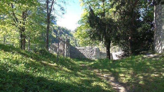 Karlstein Castle Ruins