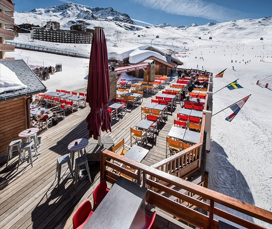 terrasse plein sud photo de le rendez vous val thorens tripadvisor. Black Bedroom Furniture Sets. Home Design Ideas