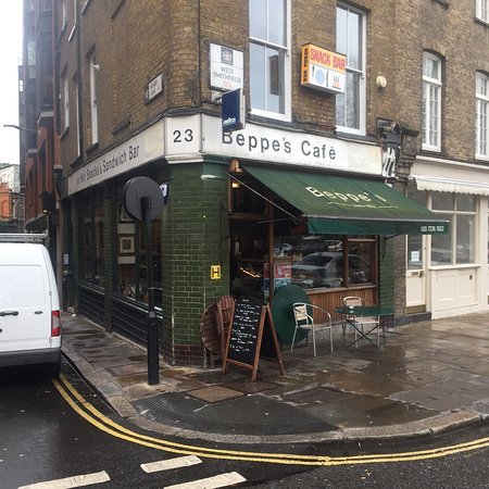 Beppe S Cafe London S