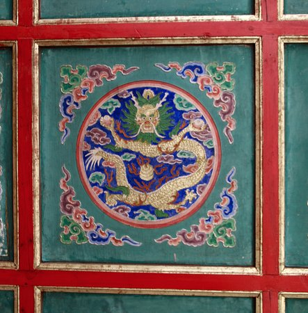 Choijin Lama Temple Museum: Choijin Lama Temple - ceiling detail