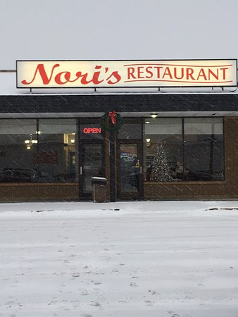 Auburn, MI: Nori's from the parking lot- easy to spot